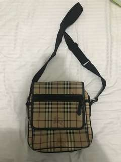 Authentic Burberry Sling Body Bag Selling Low