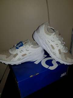 Asics Gel Kayano Trainer Knit. White/White