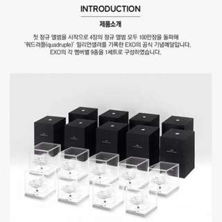 Exo Commemorative Medals