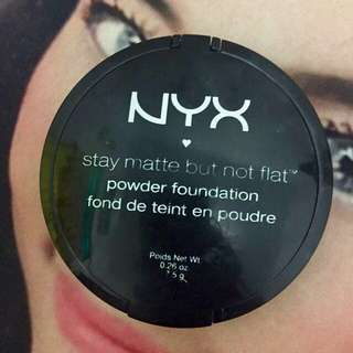 NYX powder stay matte but not flat original exp2020 shade 01 ivory