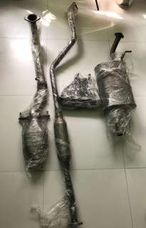 Mitsubishi Lancer CS3 Original Stock Full Exhaust System