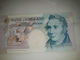 Hong Kong 1997 £5