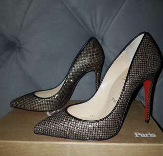 Auth Christian Louboutin high heels