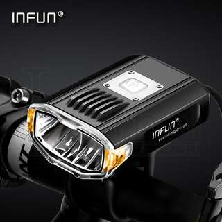 INFUN Front light for bicycle, escooter, electric scooter