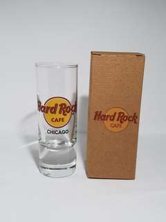 Chicago Hard Rock Cafe Classic Shot Glass, Collectible