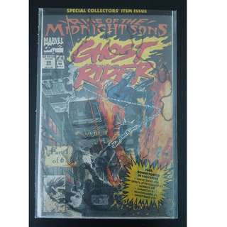 Ghost Rider #28 (1992 2nd Series)- Guest-Starring Doctor Strange! Special Polybagged Sealed Collectors Edition!