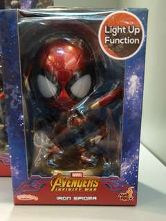 Ironspider ironman Spiderman 發光 模型