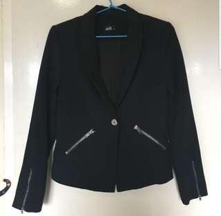 Dotti black blazer size S