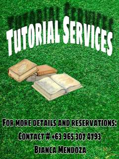HOME-BASED TUTORIAL SERVICES For Students