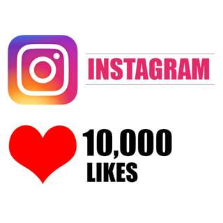 10,000 Instagram LIKES (Limited Time Offer :) )