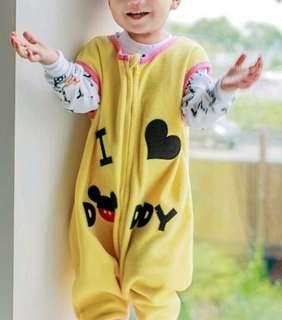 🚚 🐩可愛造型刷毛防踢睡袍🐩