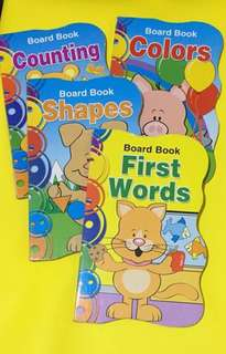 Board Books for Toddlers (4 books)