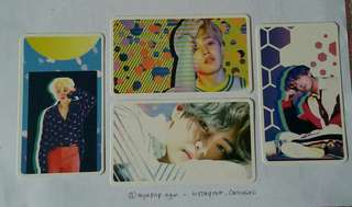 [READY STOCK] BTS D-ICON PHOTO ARTS - DOUBLE SIDED