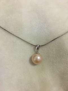 天然淡水珍珠s925純銀吊咀(不含鏈)