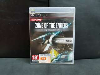 [BN] PS3 Zone of the Enders HD Collection (Brand New)