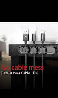 Baseus Peas Cable Clip Magnetic USB cord/wire holder