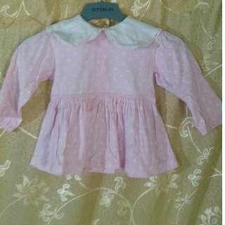 #20under Pink Polka Dots Dress