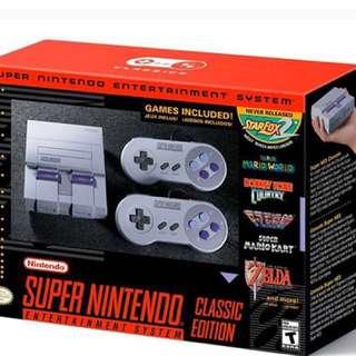 BNIB Nintendo Super NES Classic Mini