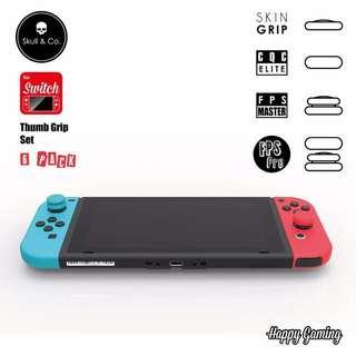 Skull & Co. FPS Master & CQC Elite For Nintendo Switch JoyCon Thumb Grip