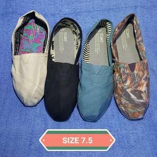 Toms shoes size 7.5