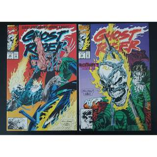 Ghost Rider #29-#30 (1992 2nd Series) Set of 2- Guest-starring Wolverine and Beast!