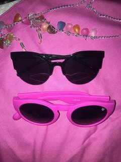 Sunglasses get 2 free strap