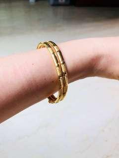 22k 916 gold bracelet