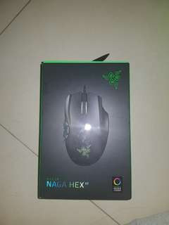 Razer Naga Hex gaming mouse