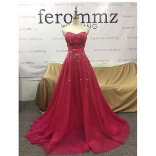 Pink Evening Gown Photoshoot/Wedding