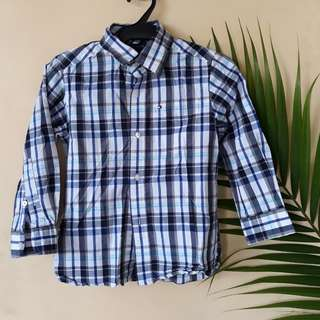 Tommy hilfiger checkered polo for kids