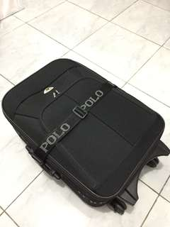 Polo Twin Luggage - Black 20""