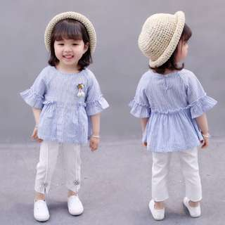 Female Baby Summer Set Two-piece