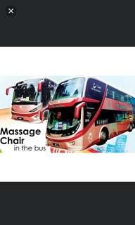 KL - SG bus ticket