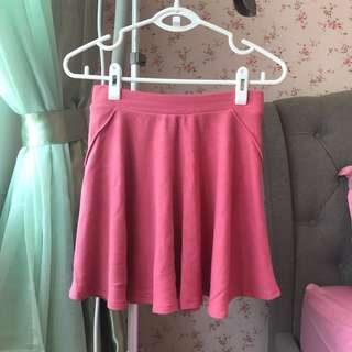 Bershka Sweet Pink Skirt