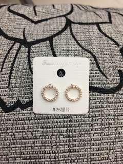 Korea Rose Gold Earring
