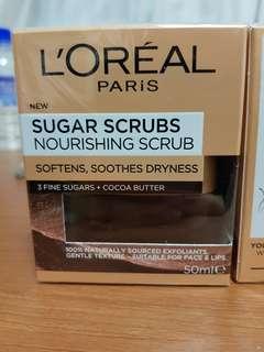 Loreal sugar scrub