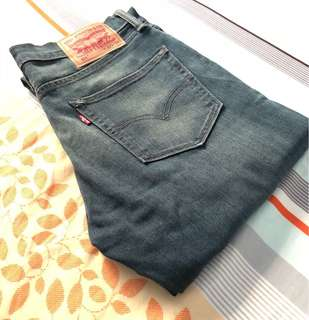 Levi's 511 Straight Jeans