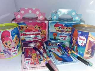 Customised Shimmer & Shine Theme Goodie Box