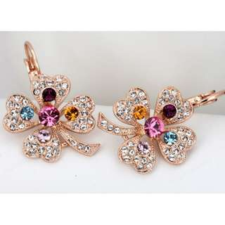 Pre-Mother's Day Sales For Brand New Crystal Earring For Sales (Mostly Only 1 Piece Per Design)
