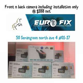 Front N Rear recorder camera