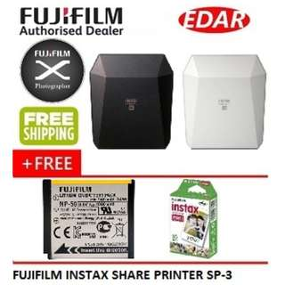 FUJIFILM SP-3 INSTAX SHARE SMARTPHONE PRINTER  ««ORIGINAL & OFFICIAL FUJIFILM»»