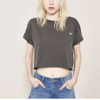 Lee Boyfriend Crop Top