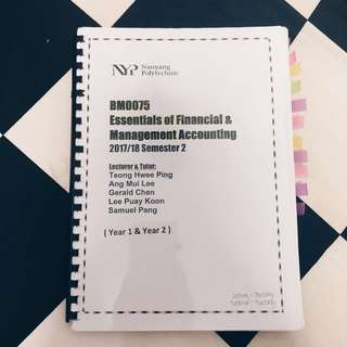 Essentials of Financial & Management Accounting (NYP)