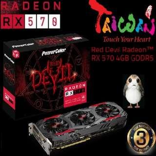 PowerColor RX 570 Red Devil 4GB GDDR5 Radeon™..