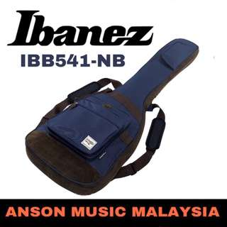 Ibanez IBB541-NB PowerPad Designer Collection Bass Guitar Bag, Navy Blue