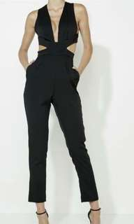 Mossman black jumpsuit