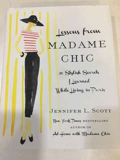 Lessons from Madame Chic by Jennifer L.Scott
