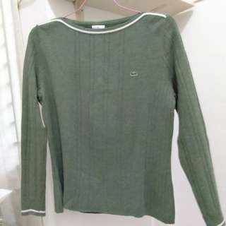 Lacoste Green Sweater - Original
