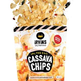 New In Town‼️Salted Egg Cassava Chips  (Small /Large)