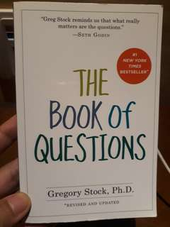 The Book of Questions by Gregory Stock, Ph.D. #horegajian